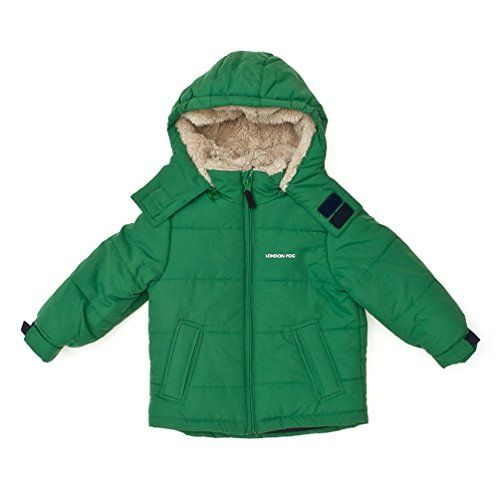 27ff5dfea London Fog Baby Classic Bubble Jacket Green 12 Months     To view ...