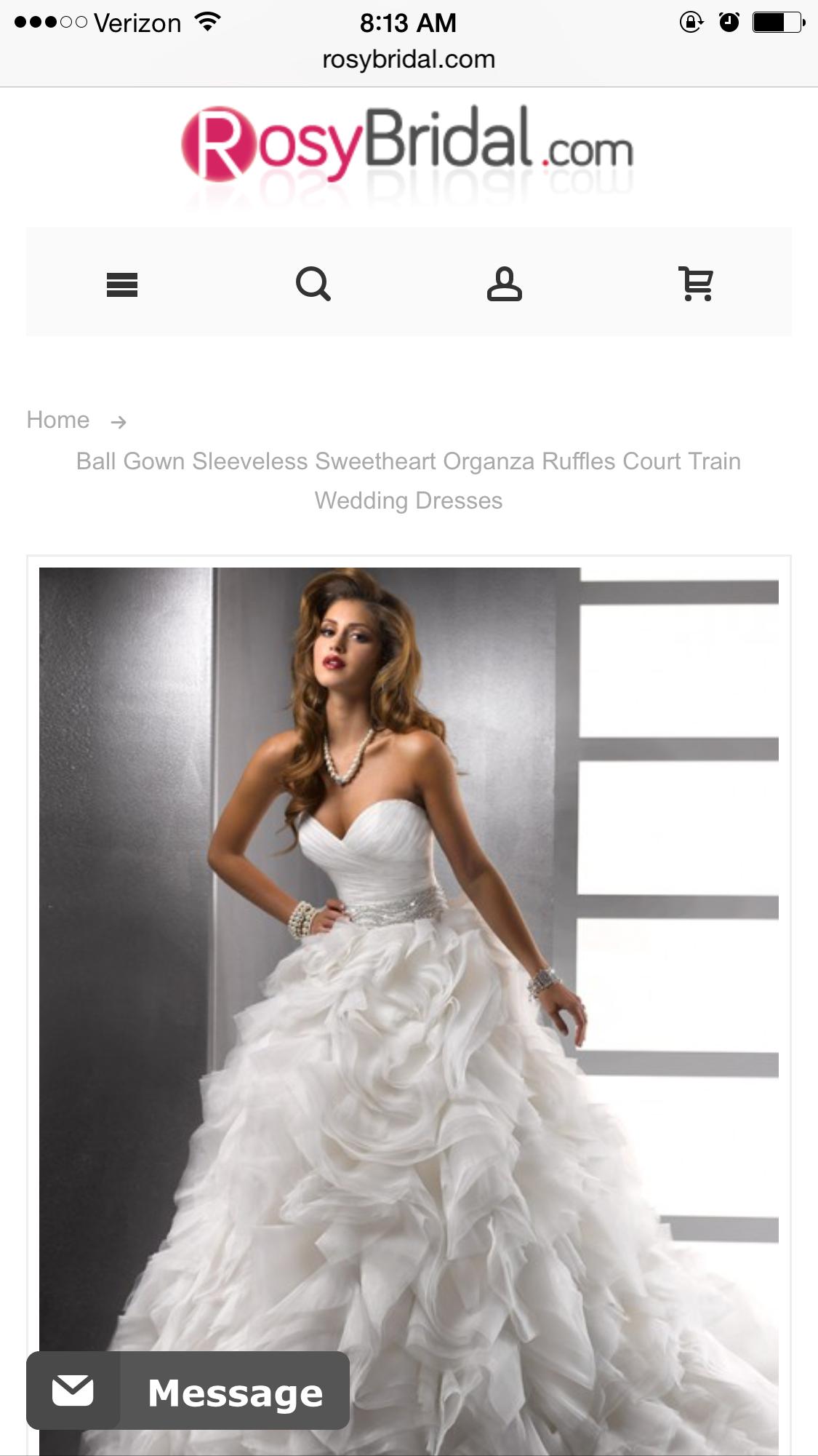 $330 size 6 - perfect dress