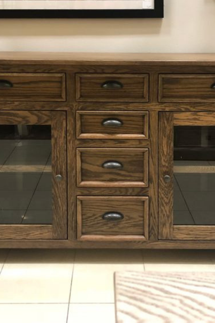Meet The Wonderfully Crafted Oak Lot Buffet This Sturdy And
