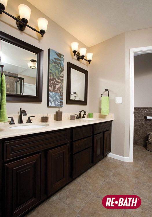 Rebathbathroomvanityremodelafter ReBath Bathroom Remodels Delectable Re Bath Bathroom Remodeling