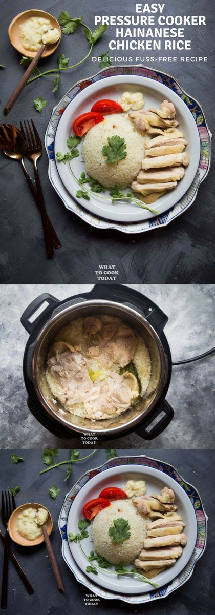 Easy Pressure Cooker Hainanese Chicken Rice - Learn How To -4459