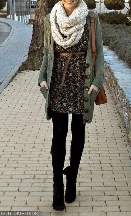 Comfy but casual winter dress