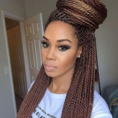 16 Sensational Senegalese Twist Styling Ideas | Hair Motive Hair ...