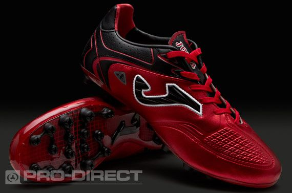 34312c4216a Joma Numero 10 AG - Red/Black | soccer | Soccer cleats, Soccer shoes ...