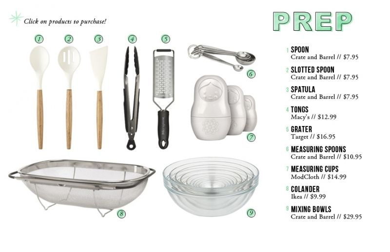Kitchen Essentials For The Every Theevery