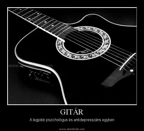 gitáros idézetek Pin by Nikolett Szabó on Guitar   Music instruments, Music, My love