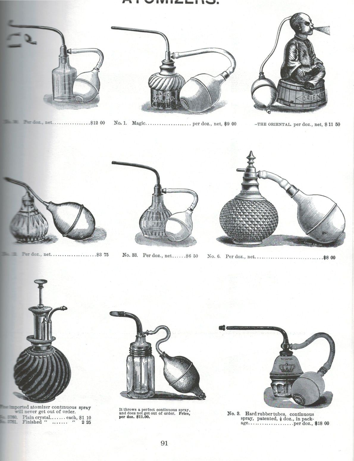 Vintage Atomizers! #Barbicide inspiration! | Barbicide | Vintage