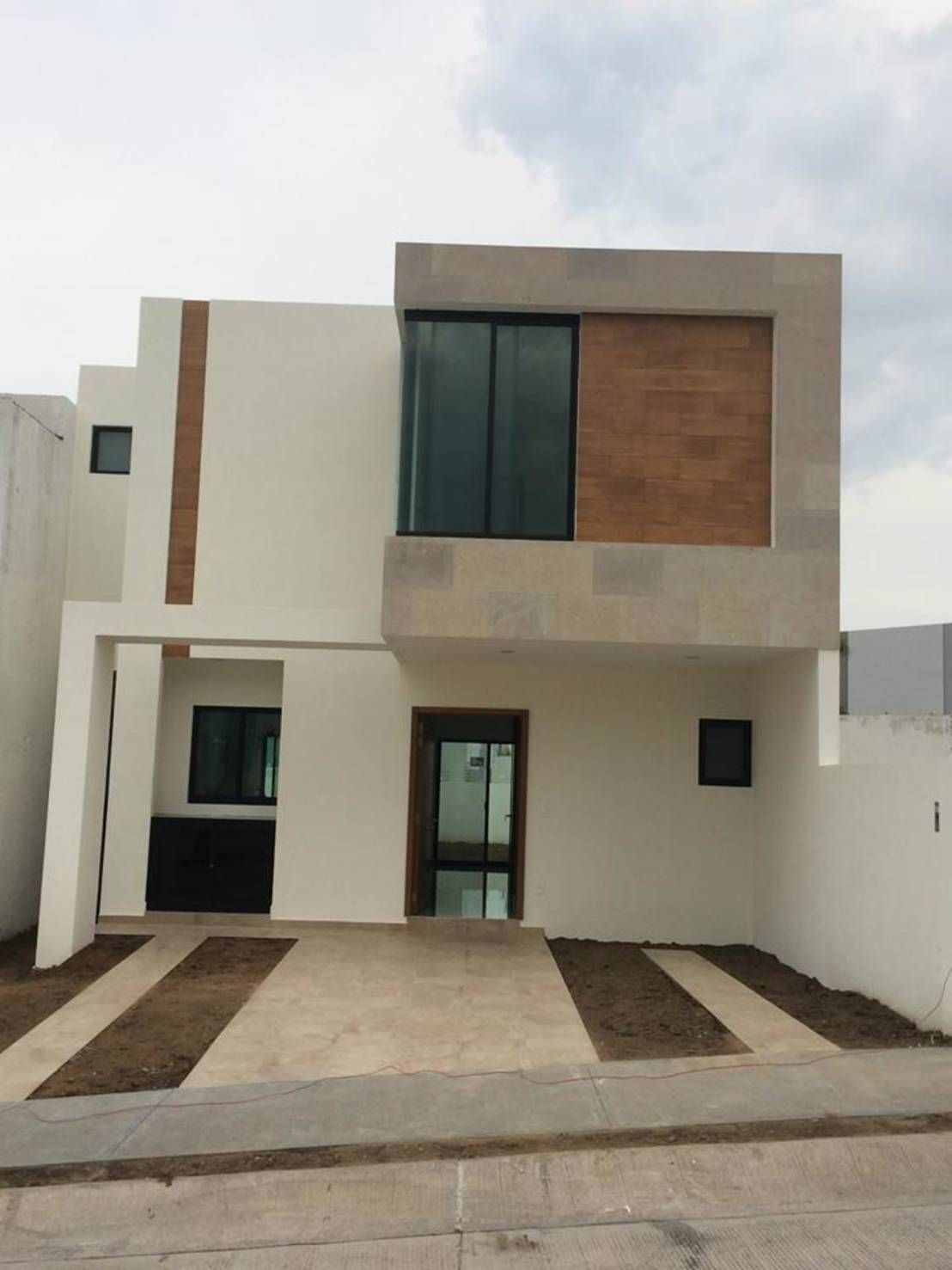 Arquitectura Fachadas De Casas Modernas Casas Modernas: 10 Fachadas De Casas Pequeñas ¡por 10 Arquitectos Mexicanos! #casasminimalistaspequeñas