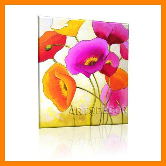 pinturas al oleo de flores abstractas buscar con google ms