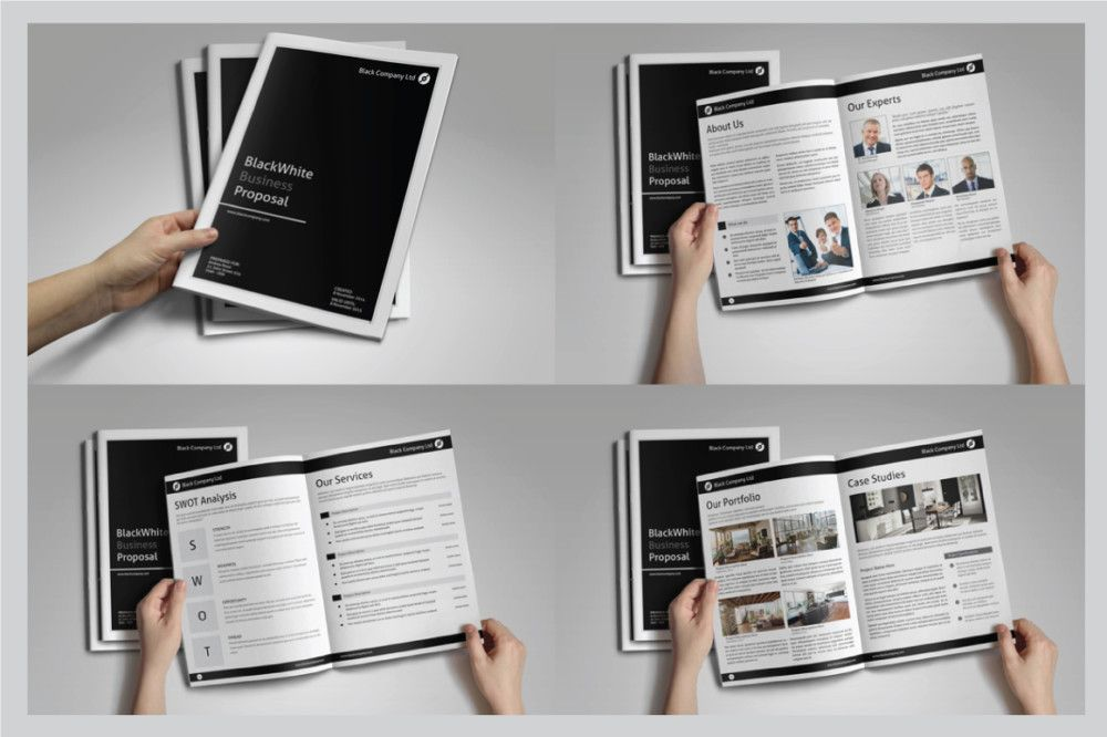 a4-indesign-work-proposal-template 10+ Work Proposal Template - work proposal