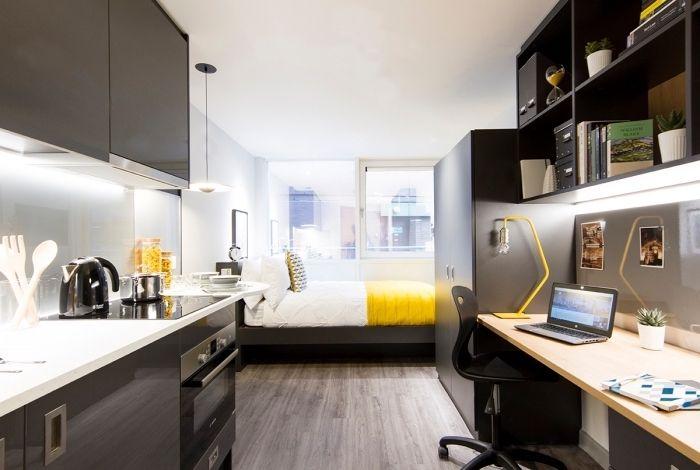 ▷ 1001 idées déco et astuces gain place pour laménagement studio