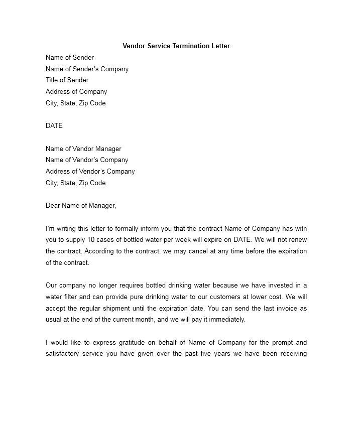 perfect termination letter samples lease employee contract - employee termination letter
