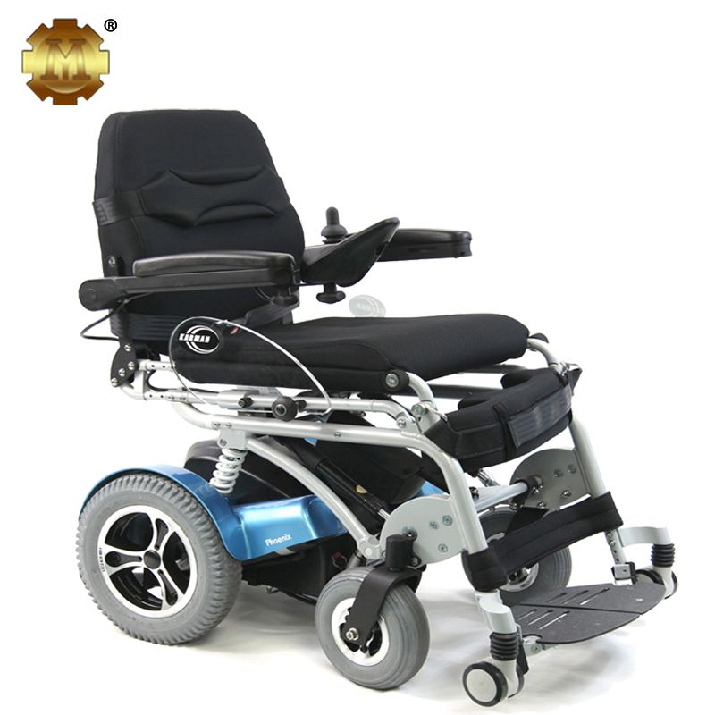 Electric Standing Reclining Rehab Wheelchair Powered Wheelchair