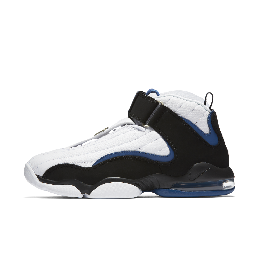 pretty nice a101e df569 Nike Air Penny IV Men s Shoe Size 11.5 (White) - Clearance Sale