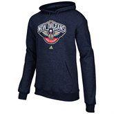 Adidas New Orleans Pelicans Full Primary Logo Hoodie Navy