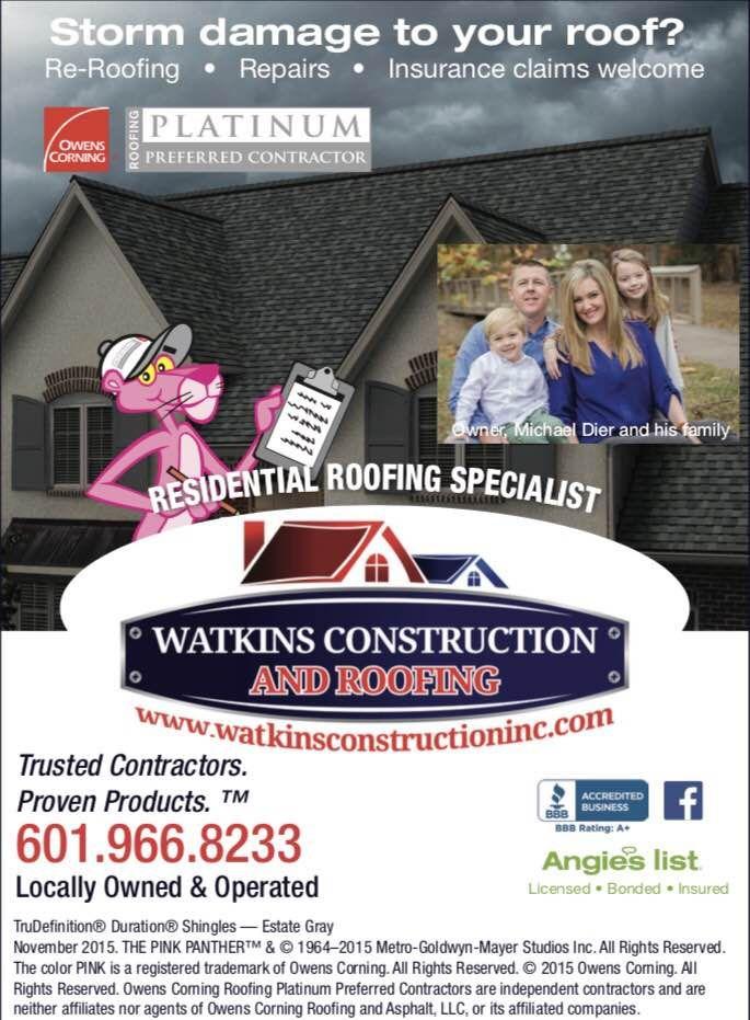 wwwwatkinsconstructioninc #watkinsroofing #owenscorning