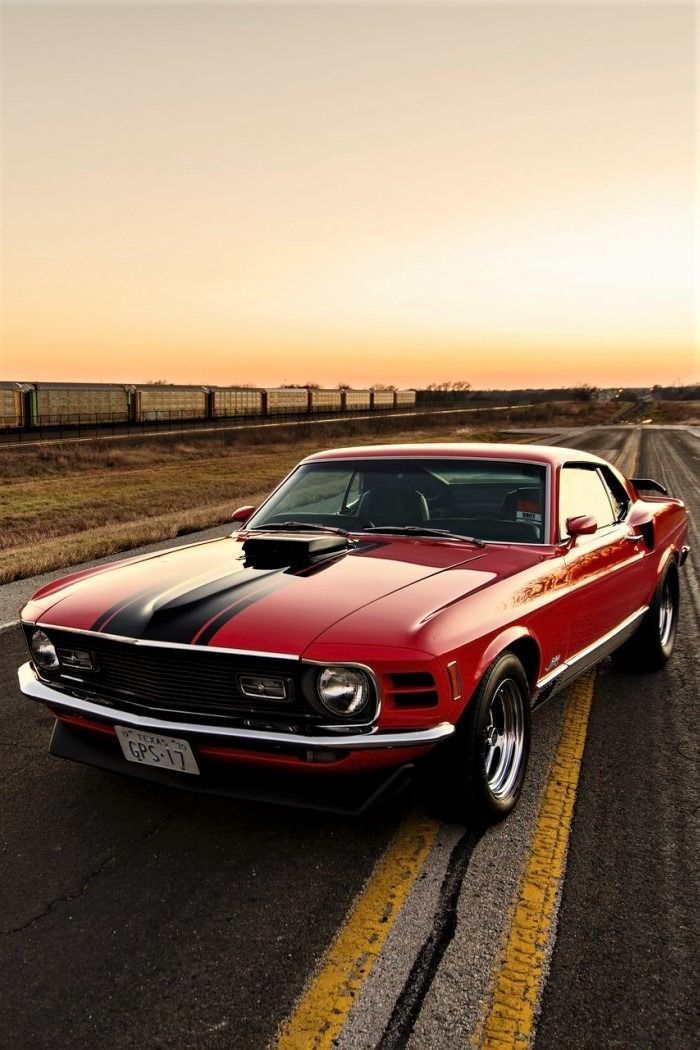 Ford Mustang 1970 edition, like in DJ Snake - Let Me Love You ft Justin Bieber music video - The MAN