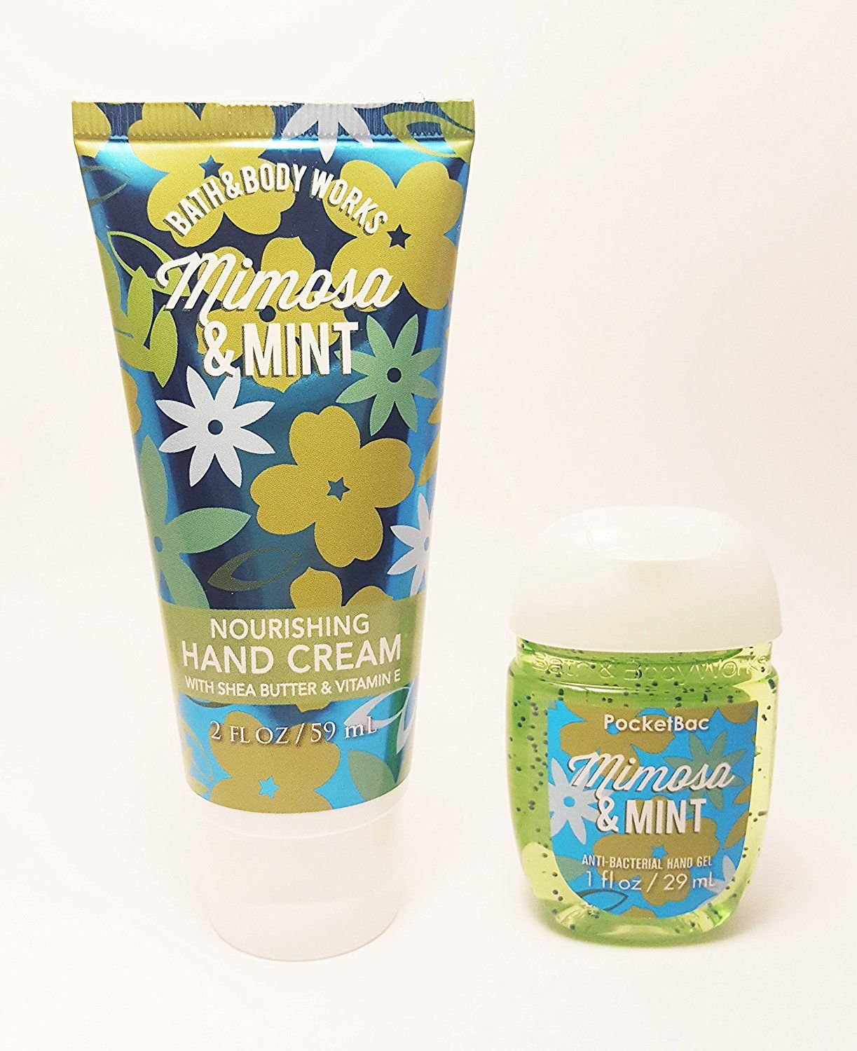 Bath And Body Works Set Nourishing Hand Cream And Pocketbac