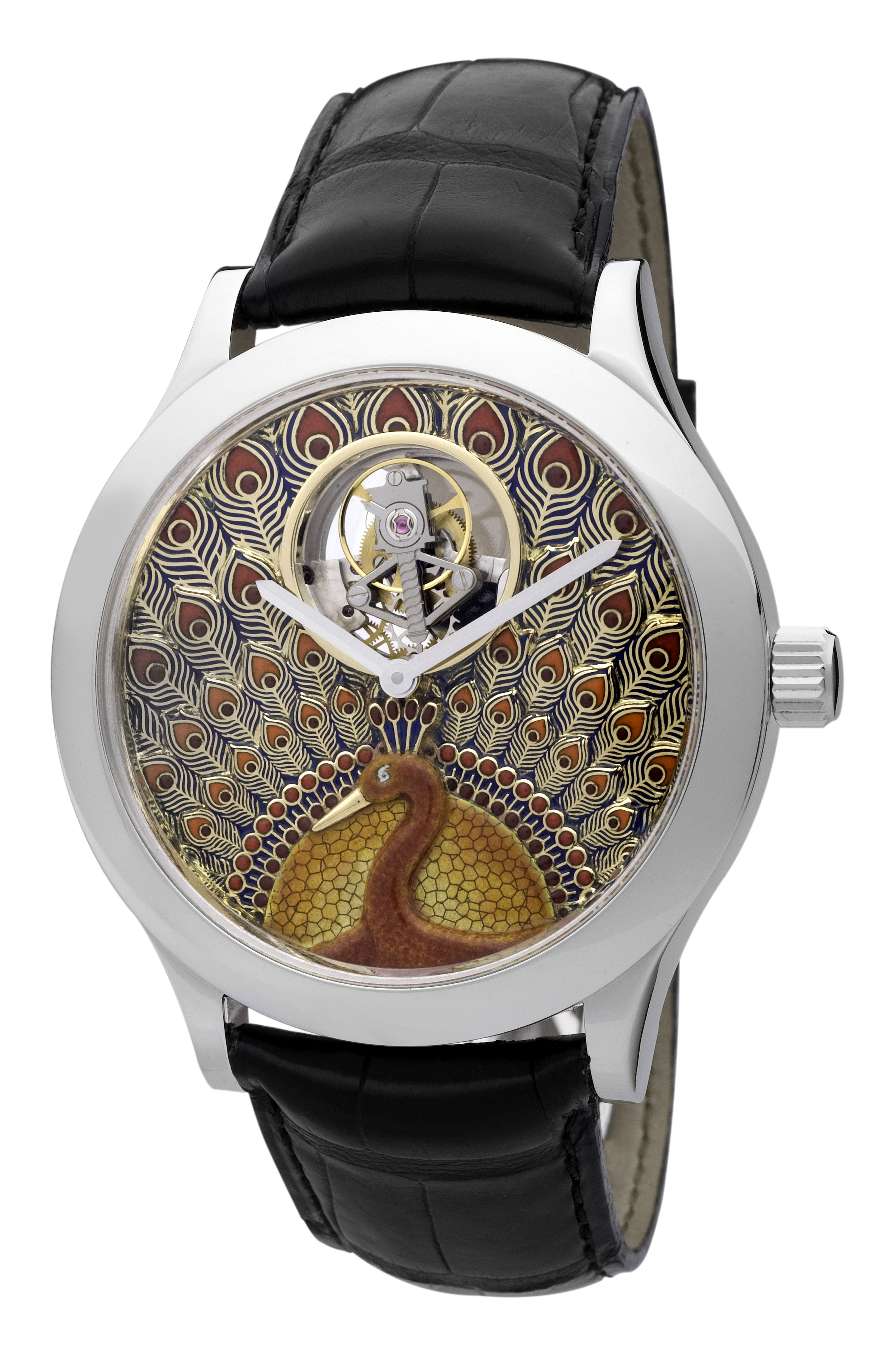 Tourbillon Peacock, Van Cleef and Arpels www.stylecity.in