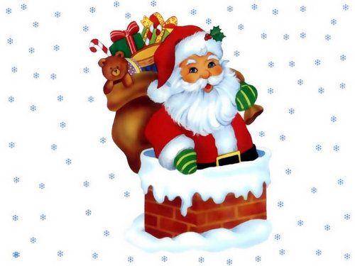 Christmas Wallpaper Santa Claus Animated Christmas Santa Claus Images Santa Claus Clip Art