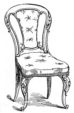 Empire Chair Drawing Google Search Chair Drawing Victorian Chair Drawings