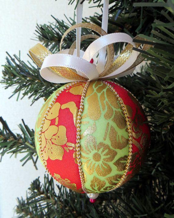 Korean Traditional Hanbok Fabric Christmas by OrnamentDesigns Fabric Christmas  Ornaments, Ornaments Design, Handmade Ornaments - Korean Traditional Hanbok Fabric Christmas Ornament Ornament
