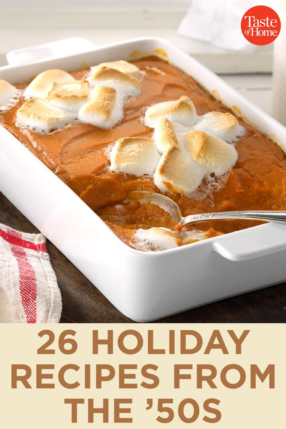26 Holiday Recipes from the '50s