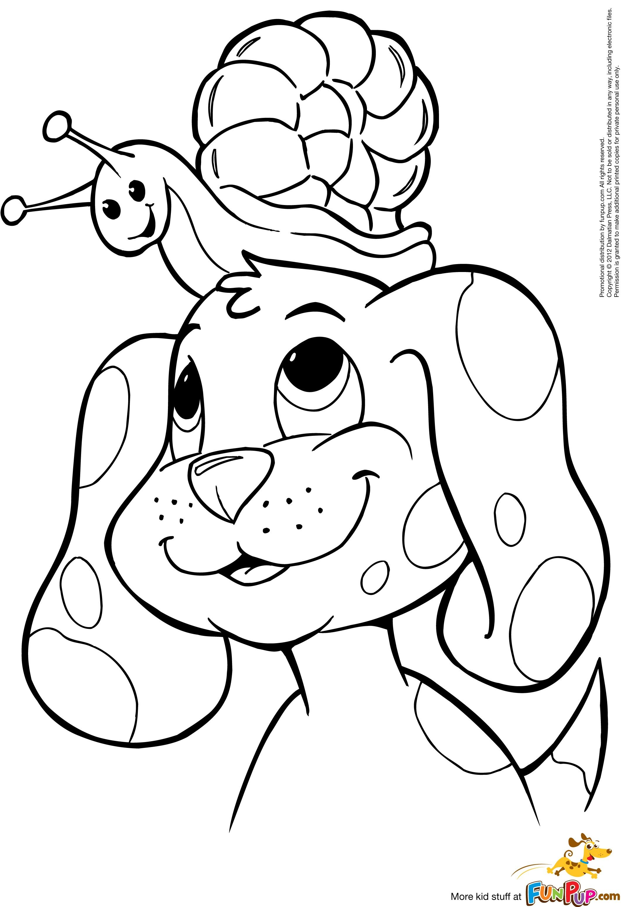Free printable coloring in pages - Printable Puppy Coloring Pages Animal