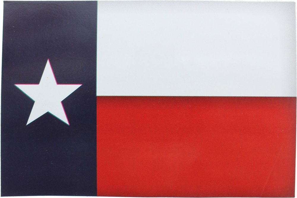 10-Pack Texas Flag Lone Star State Flag Sticker 5