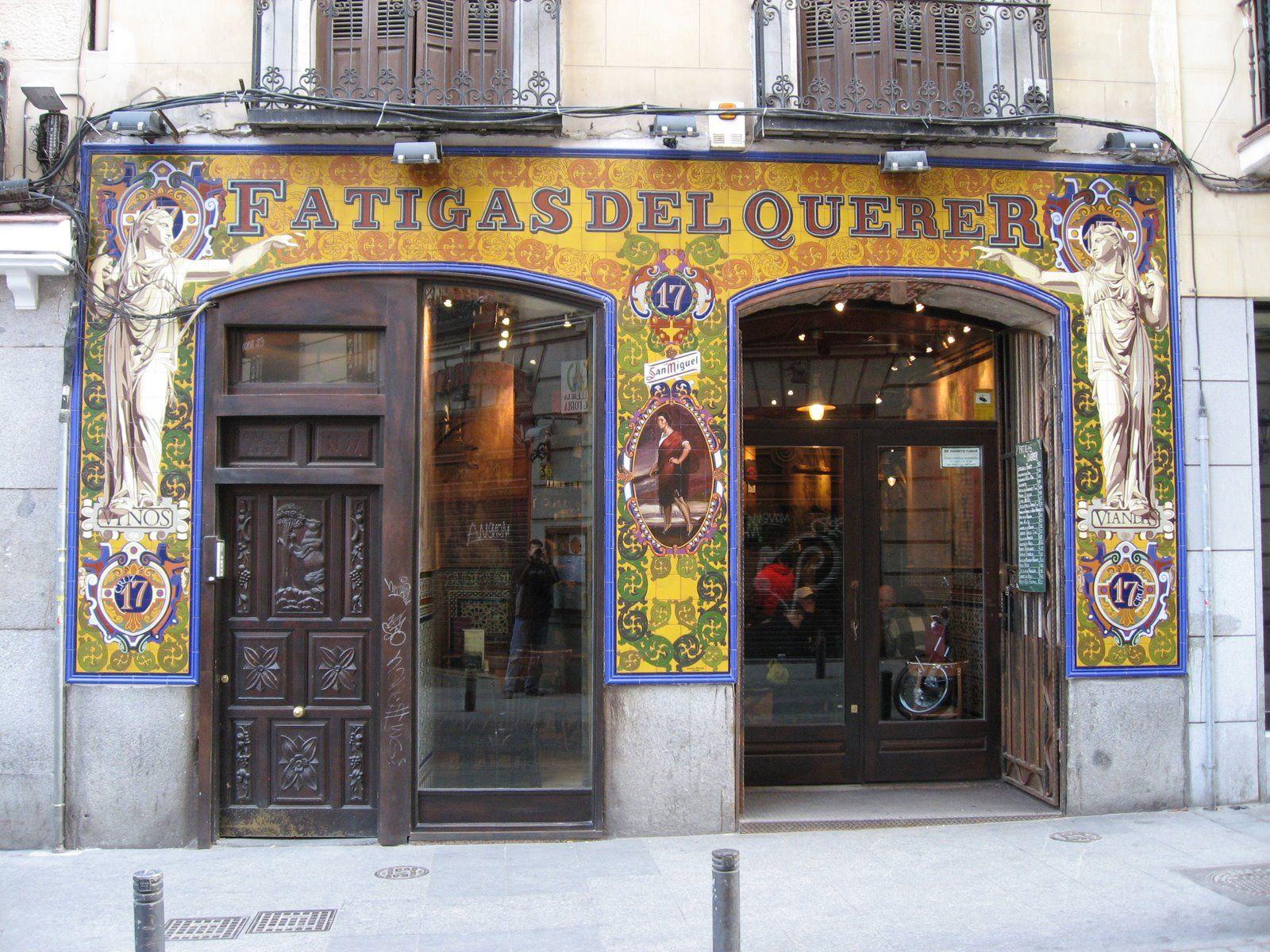 Fatigas Del Querer Tiendas Antiguas Madrid Ciudad Ciudad De Valladolid