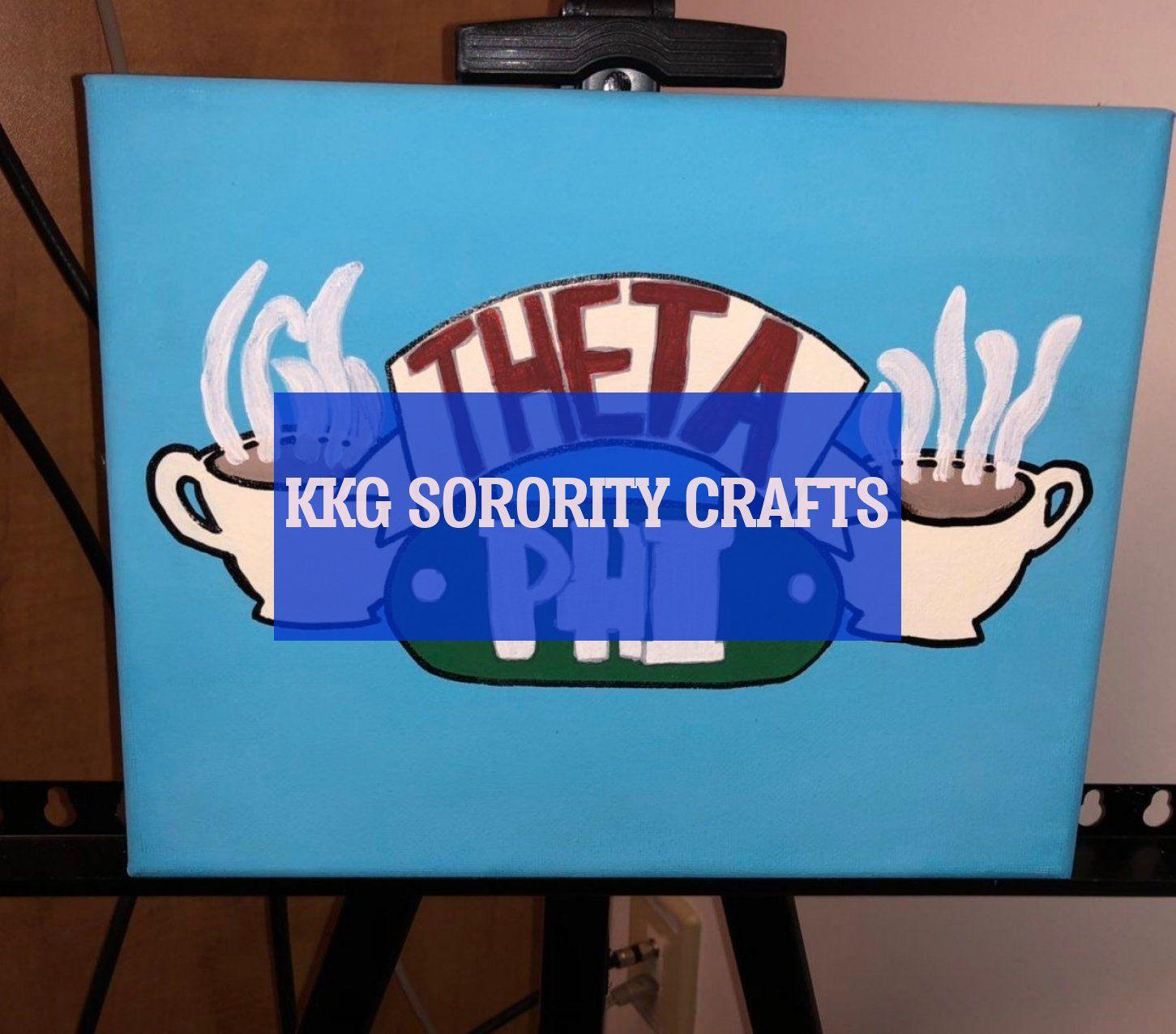 Kkg sorority crafts