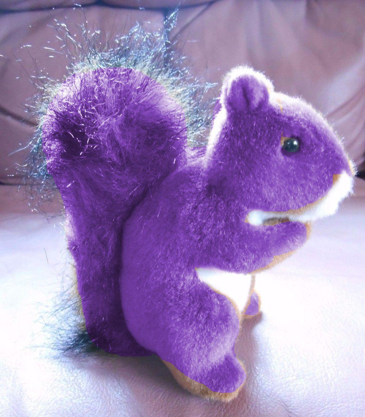 Purple Squirrel Plush Purple Squirrel Squirrel Purple Design [ 1353 x 1186 Pixel ]