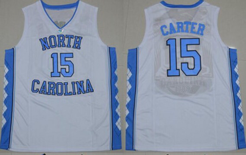 buy popular 80a05 ca32a Vince Carter North Carolina Jersey | UNC | Tar heels ...