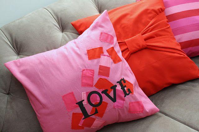 Love Pillow Case Tutorial & Love Pillow Case Tutorial | Sewing Tutorials | Pinterest ... pillowsntoast.com