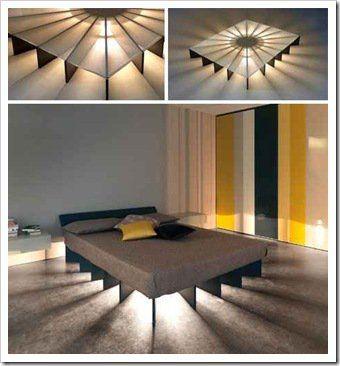 Illuminating Bed Platform Bed Designs Bedroom Design Diy