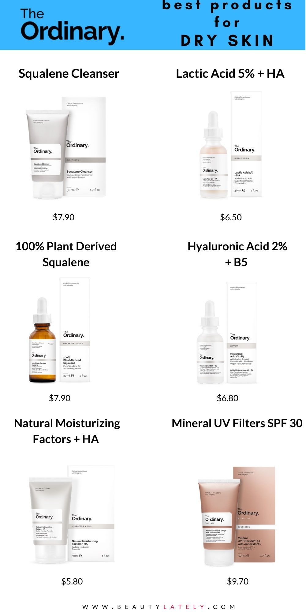 How To Pick The Best The Ordinary Products For Dry Skin In 2020 Dry Skin Routine Moisturizer For Dry Skin The Ordinary For Dry Skin