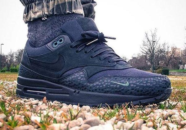 size 40 b0d90 aeb99 Nike-Air-Max-1-PRM-Safari-Black-Bonsai-