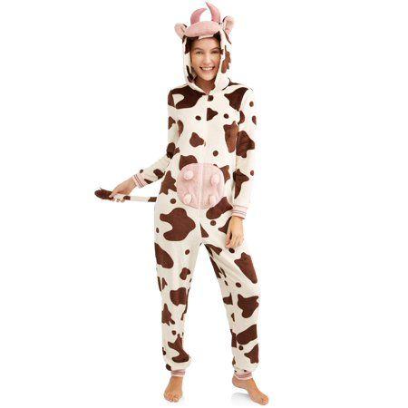 9a60f9645c2f Plus Size Jammers Women's and Women's Plus Cow Union Suit, Size: Medium,  Beige