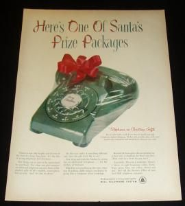 1956 Bell Telephone Christmas Ad
