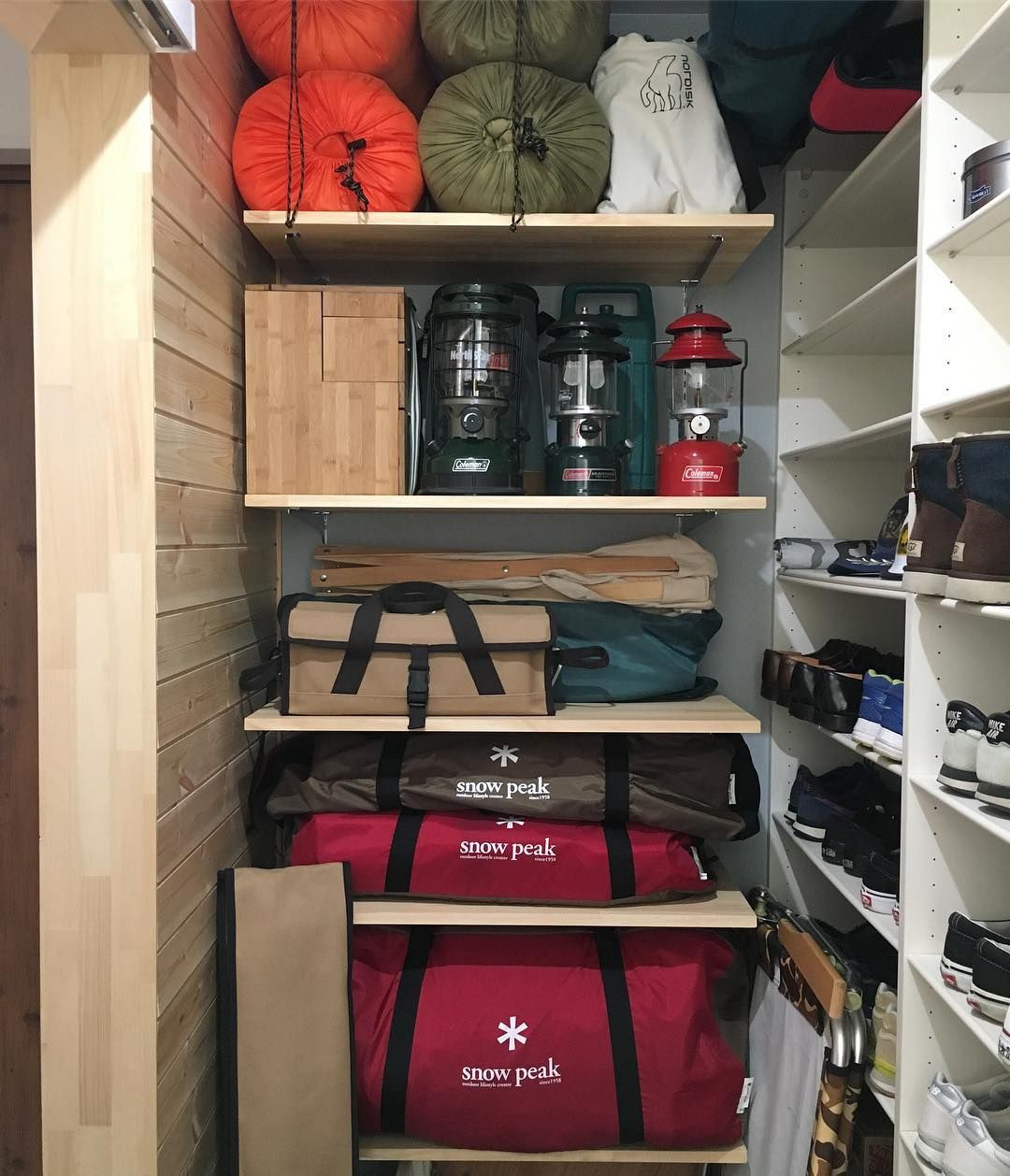 収納 キャンプ 道具 【キャンプ道具の収納】キャンプ道具の車載の大まかなポイントまとめてみた。