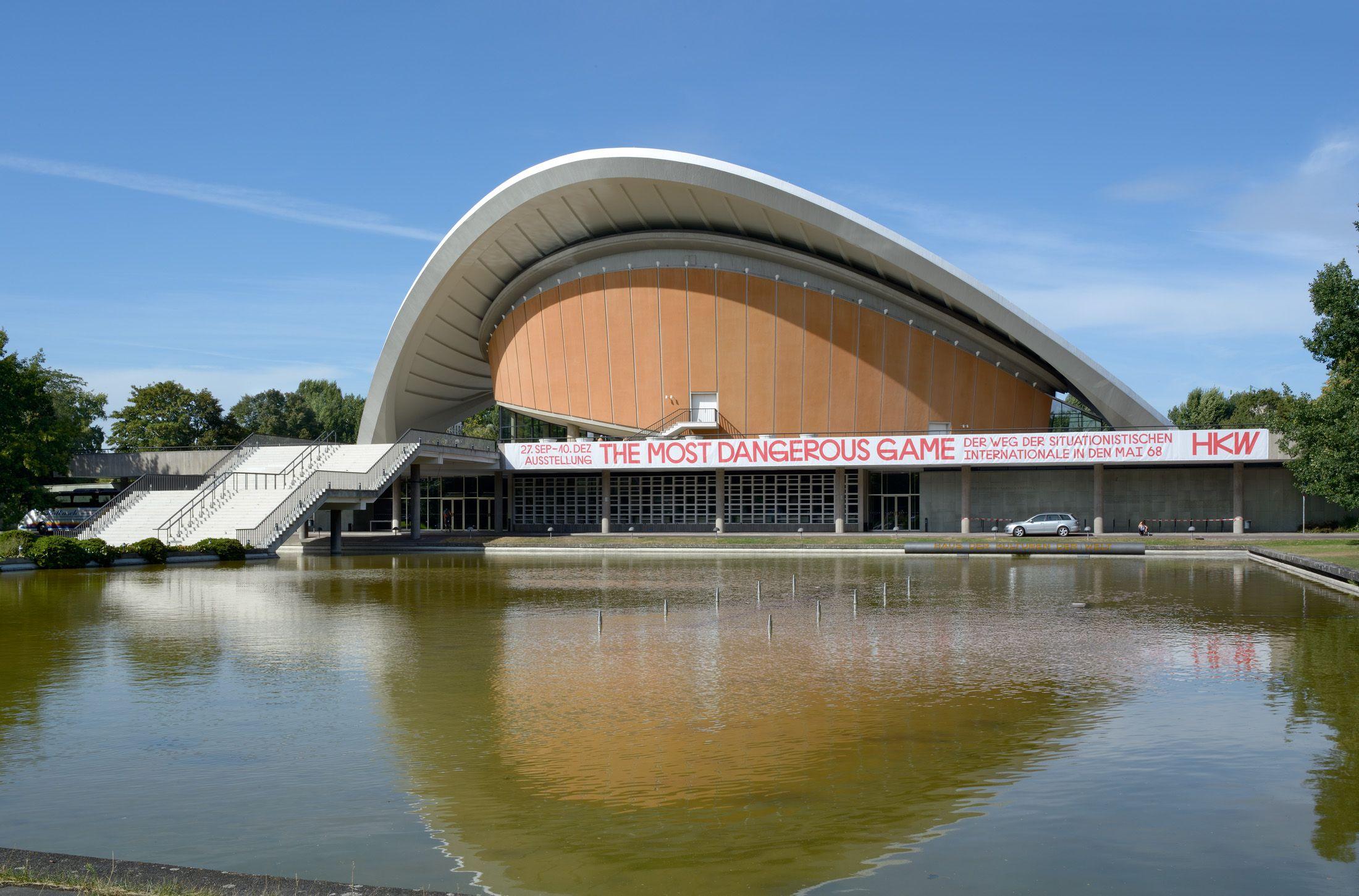 Dfz Architekten Haus Der Kulturen Der Welt Berlin Germany World Cultures World Architecture