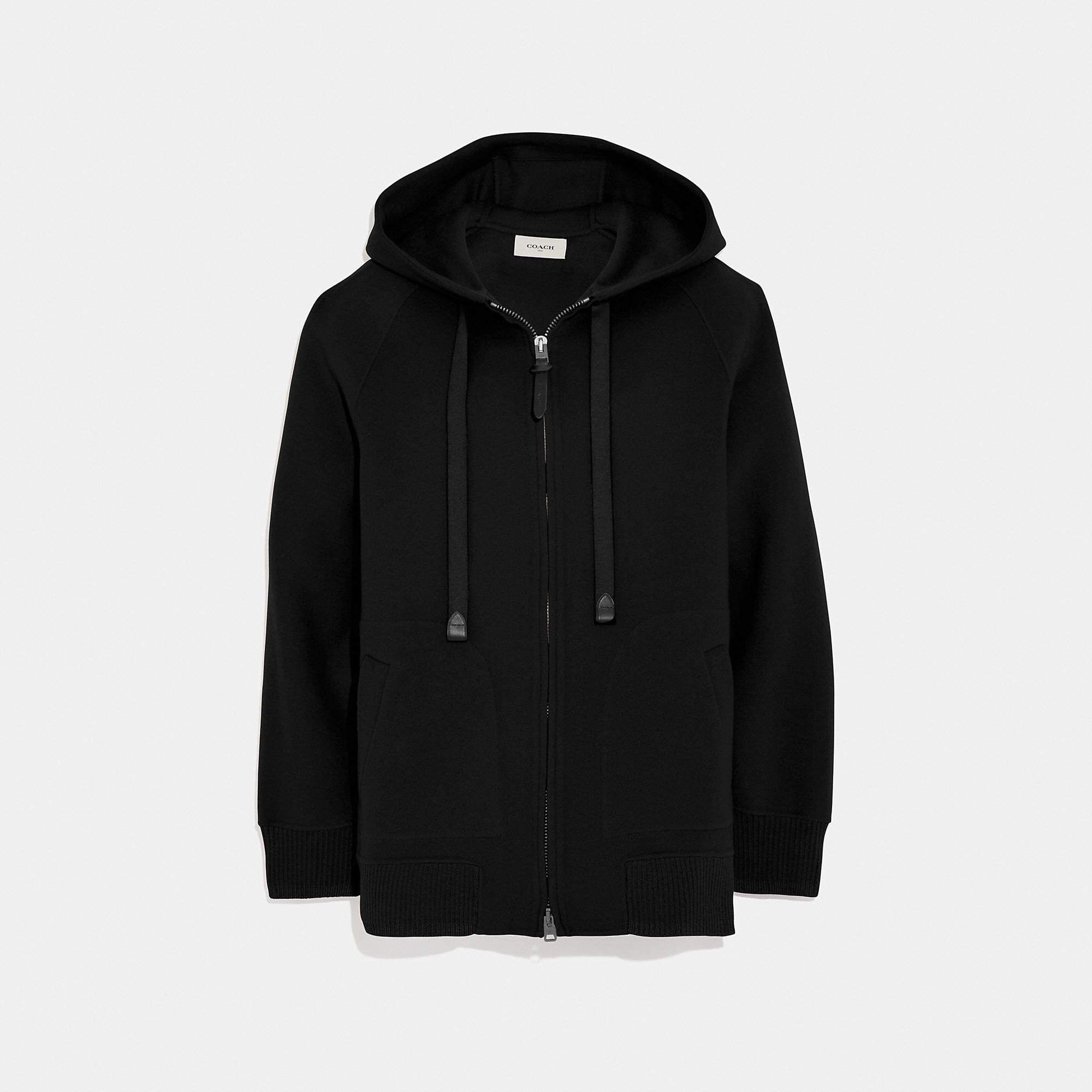 The Adidas Originals Men's Sport Luxe Moto Hoodie | Hoodies