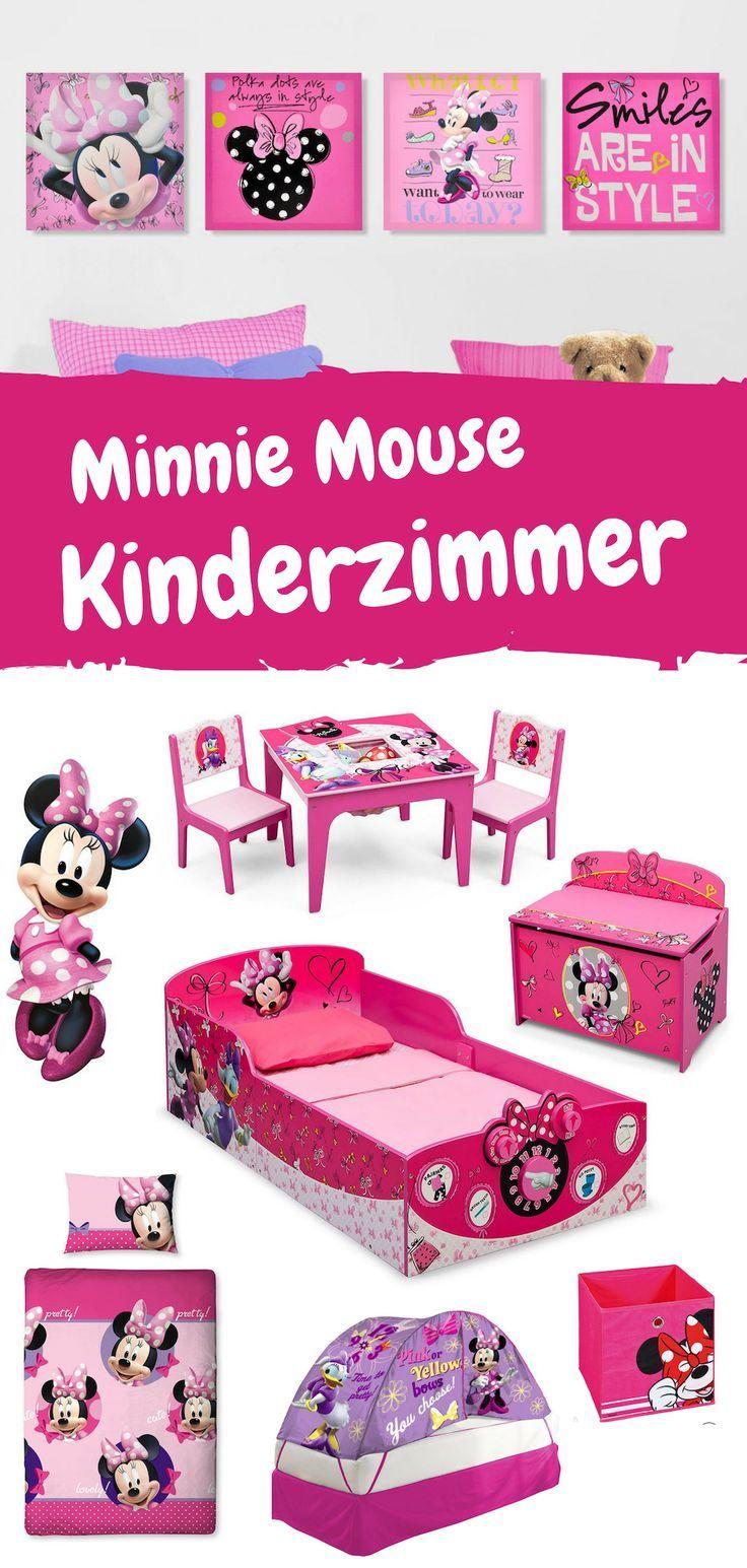 Kinderzimmerideen für Mickey und Minnie Mouse Fans. Vom