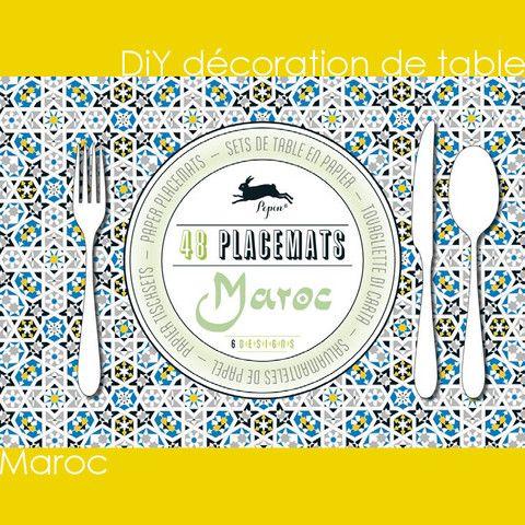 DiY déco de table - Maroc