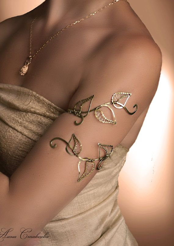 Die Oberarmmanschette ist der perfekte Hochzeitsschmuck oder Geschenk für jeden besonderen Anlass #promthings