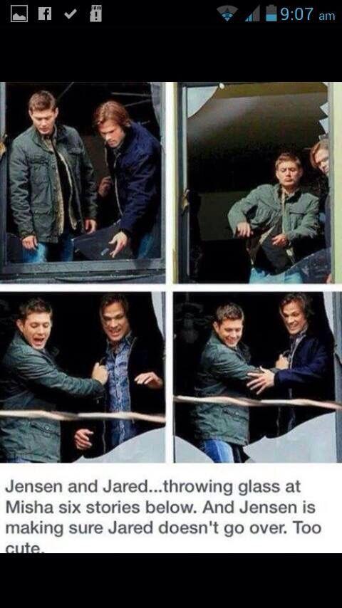I love Jensen and Jared