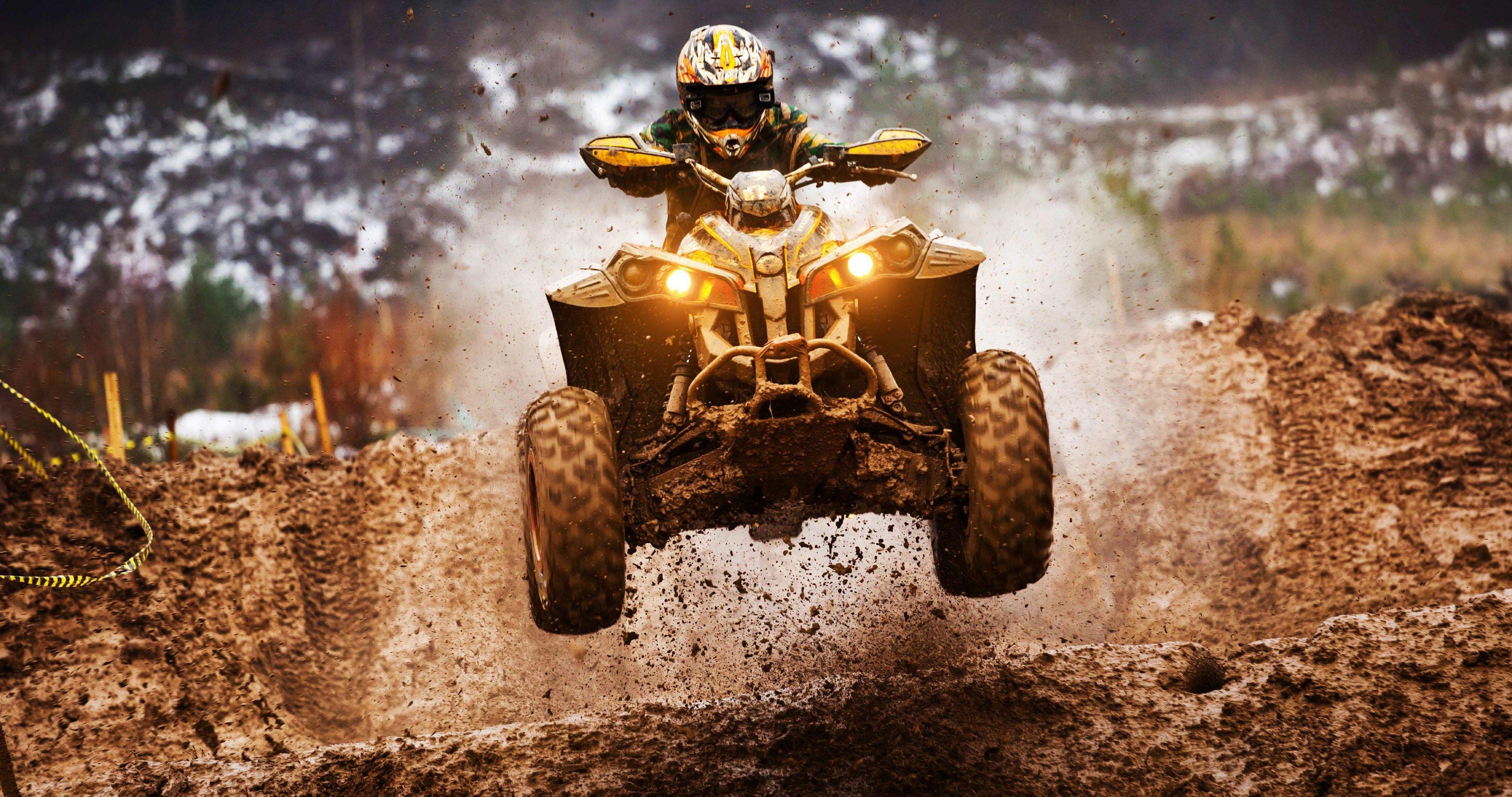 Quadricycle Atv 4k Ultra Hd Wallpaper Atv Motocross Best Atv Atv