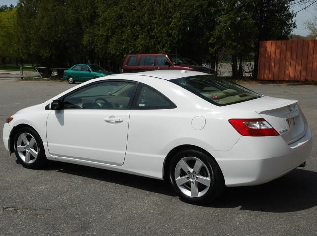 Captivating A White 2008 Honda Civic LX Coupe! ^______^