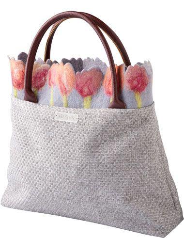 Kollektion | Werkstück | Handmade bag | Pinterest | Filz, Filzen und ...