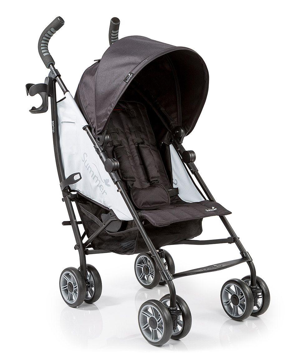 Summer Infant Black 3DFlip Convenience Stroller Save